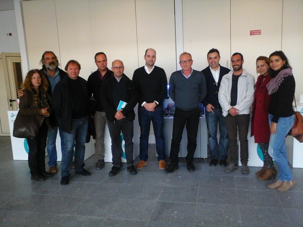 la delegazione al CETEMARES